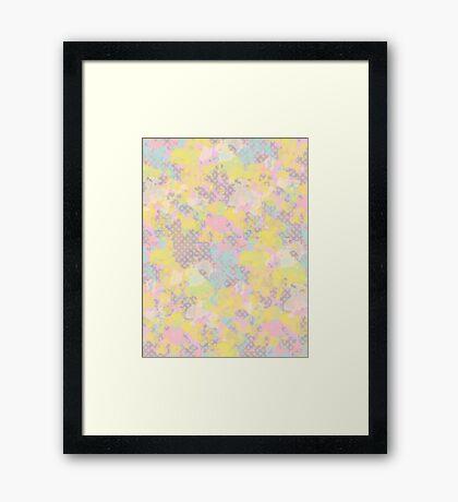 Everywhere #redbubble #abstractart Framed Print