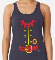 Elf Costume for Carnaval Christmas Halloween Party Racerback Tank Top