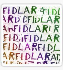 Fidlar T Shirts Sticker