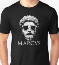 Stoicism Philosopher King Marcus Aurelius Tshirt Slim Fit T-Shirt
