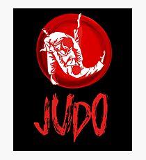 Judo Japan Martial Arts Gift Grappling Light Photographic Print