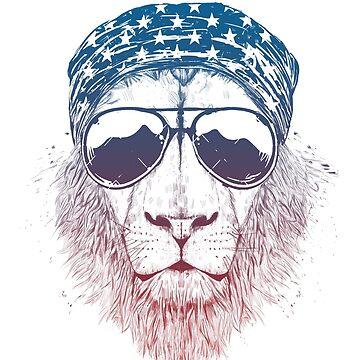 Wild lion by soltib