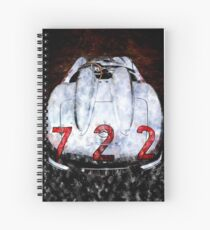 Mercedes SLR 722 MM Spiral Notebook