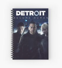 Detroit Become Human Spiral Notebook