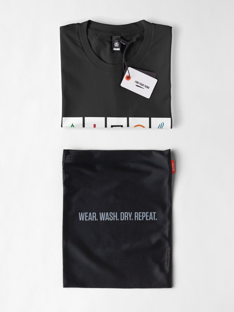 Alternate view of Zener cards: test your own ESP (as given away in magazine partwork The Unexplained) Premium T-Shirt
