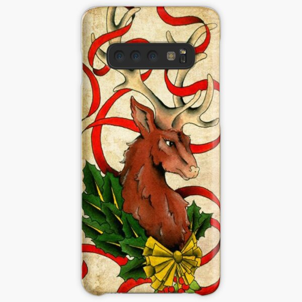 Christmas Reindeer  Samsung Galaxy Snap Case