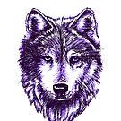 Timberwolf-Purpur von sandyeates