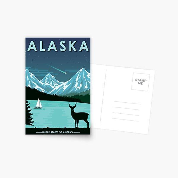 Alaska Postcard Postcard