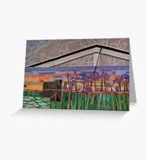 Agapanthus Sunset Greeting Card