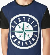 The Seattle Mariners Baseball Graphic T-Shirt