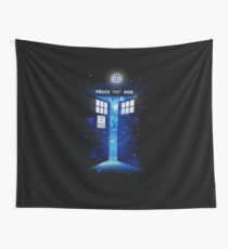 Time Gate Wall Tapestry