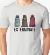 Daleks Through the Years Unisex T-Shirt