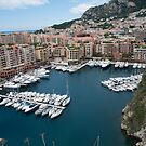 Port D Fontvieille Monaco by Jim Hellier