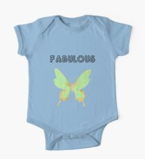 Fabulous Colourfull Butterfly One Piece - Short Sleeve