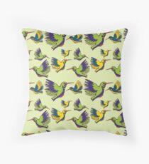 Flying Birds Throw Pillow
