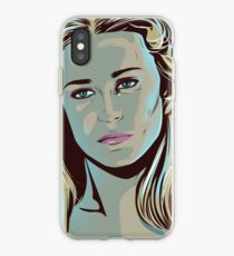 Westworld inspired fan art of Dolores iPhone Case