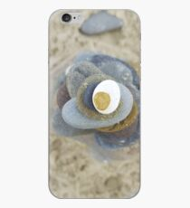 Pebble tower from above iPhone Case