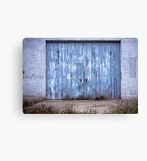 """Blue"" ~ Abandoned Seacliff Psychiatric Hospital, NZ Canvas Print"
