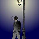 Detective under street lamp by Logan81