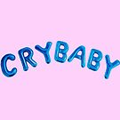 Crybaby balloons blue/pink by Clairie