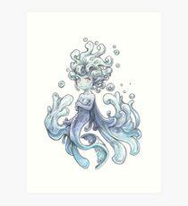 La fée de l'eau Impression artistique
