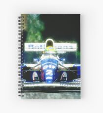 Ayrton Senna Spiral Notebook