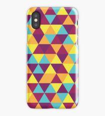 Retro Triangles iPhone Case