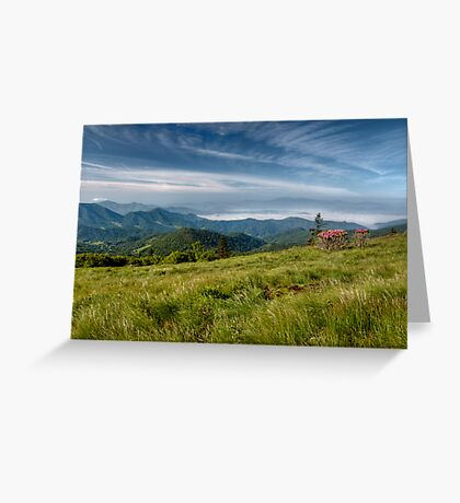 Along the Blue Ridge Greeting Card
