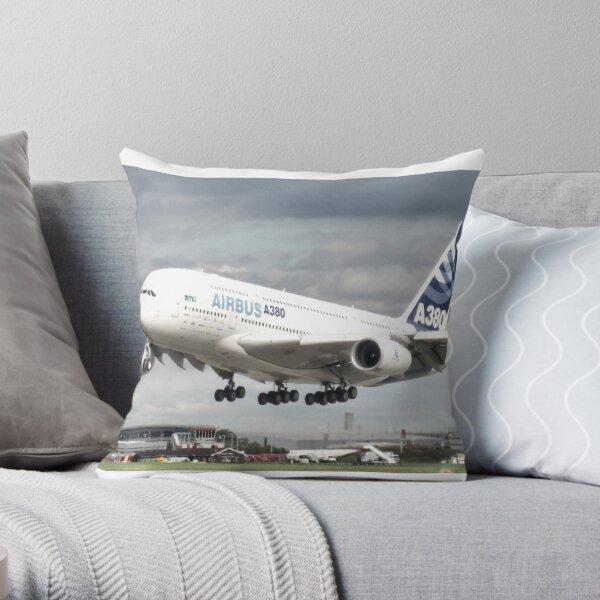 A380 Throw Pillow