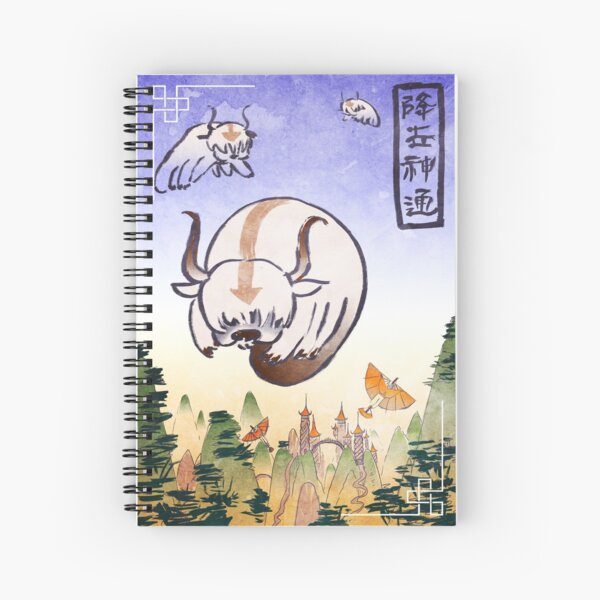 Appa- the last airbender Spiral Notebook