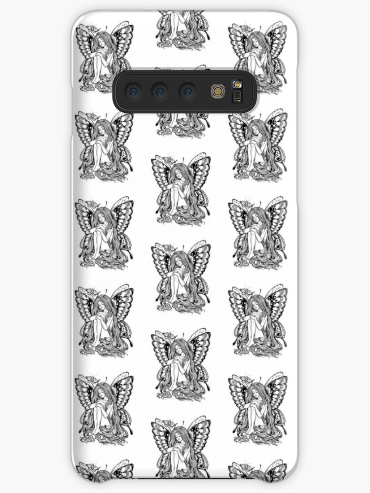 85c7bda4e7dcd Young girl butterfly with long wavy hair falling to the ground. Nude modest  moth. Princess of the forest.