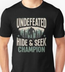 5bf7d7fd Undefeated Hide & Seek Sasquatch Yeti Slim Fit T-Shirt