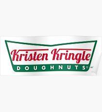 Kristen Kringle - Krispy Keme Logo Poster
