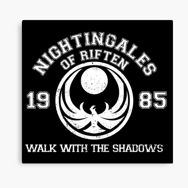 Nightingales Canvas Print