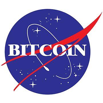 Bitcoin NASA Shirt by Bitninjasupply