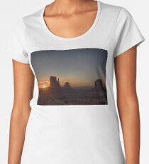 Sunrise at the Monument Women's Premium T-Shirt