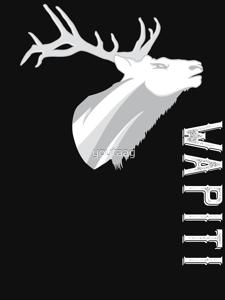 Elk WAPITI by youtaag