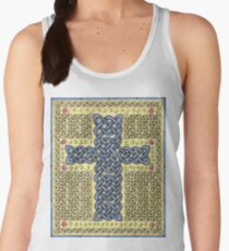 Celtic Cross and Roses Women's Tank Top