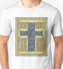 Celtic Cross and Roses Unisex T-Shirt