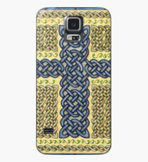 Celtic Cross and Roses Case/Skin for Samsung Galaxy