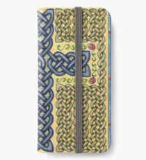 Celtic Cross and Roses iPhone Wallet/Case/Skin