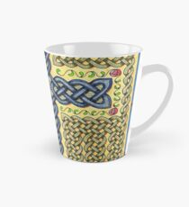 Celtic Cross and Roses Tall Mug