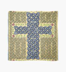 Celtic Cross and Roses Scarf