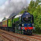 Tornado Steam Train by Jane-in-Colour