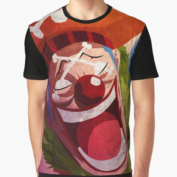 Buggy the Clown Graphic T-Shirt