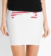 Oregon USA Flag ELk Mini Skirt