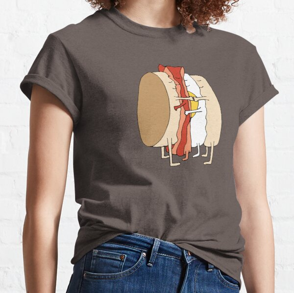 Breakfast Sandwich Love Classic T-Shirt