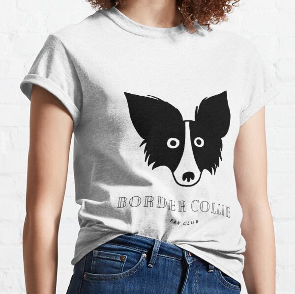 Border Collie Fan Club Classic T-Shirt