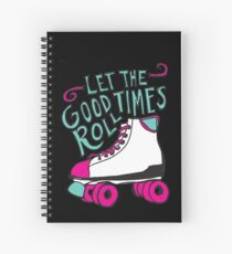Let the Good Times Roll Spiral Notebook