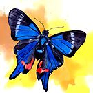 Blue Phoenix by Kaisa Holsting